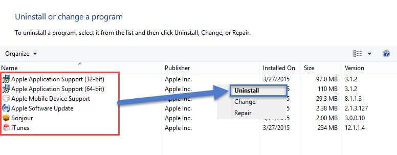 Bye Bye Itunes FIX: Windows Error 127 windows error 127