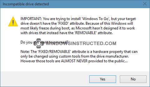 Windows-10-To-Go-using-Rufus-2_thumb Creating a Windows To Go USB stick the easy way Windows To Go