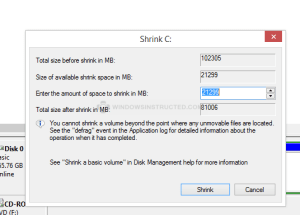 w34 How-to Resize Harddisk  without Losing  Data harddisk
