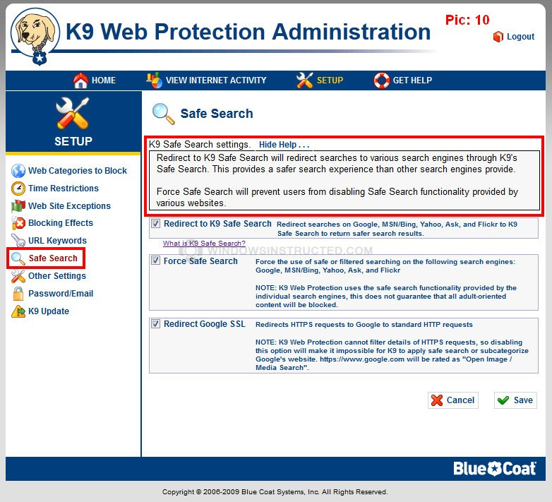 K9 web protection 4. 0. 296 | software downloads | techworld.