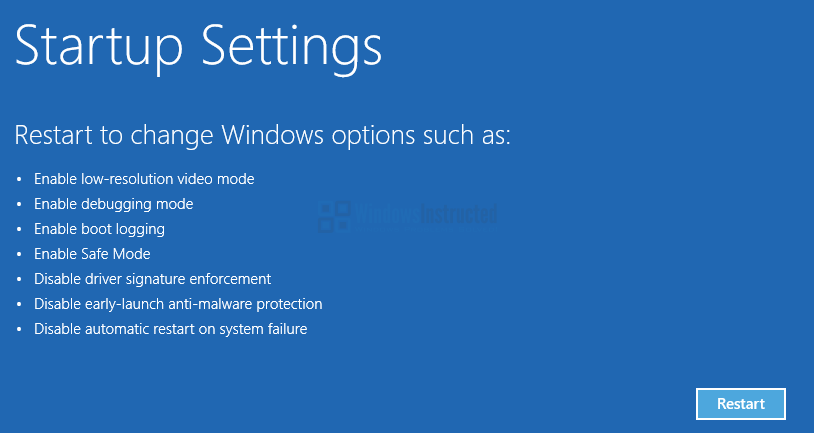 Windows 10: Startup Settings How to Start Windows 10 in Safe Mode? safe mode