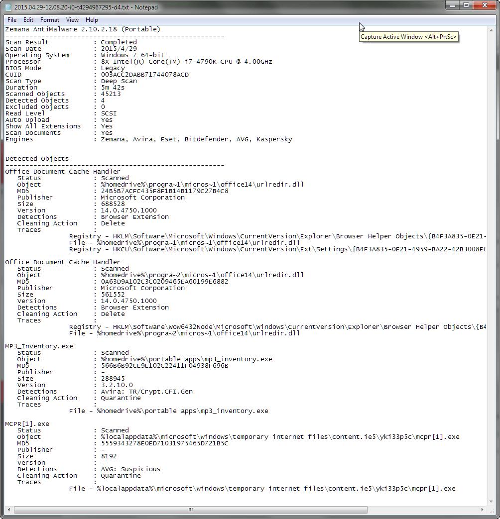 Malware Removal Using Zemana Antimalware Dvd Anti
