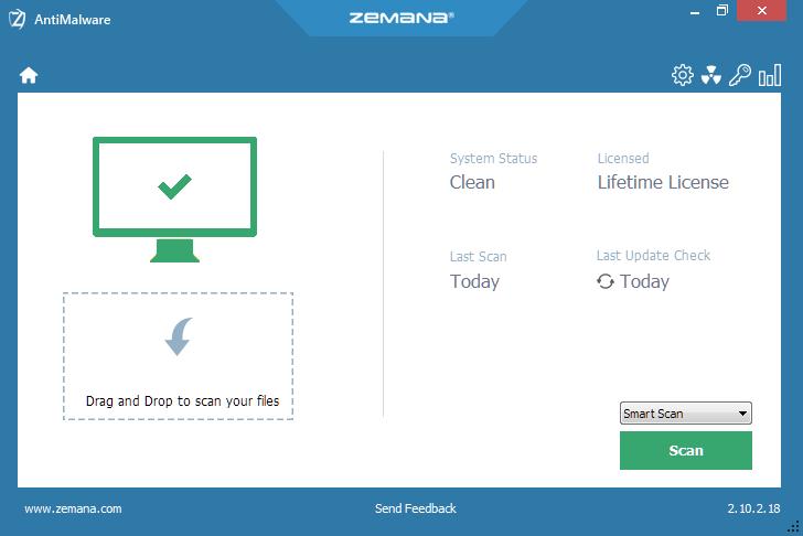 Malware removal using Zemana AntiMalware zemana