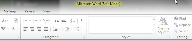 2015-06-03_154342b How to Start Microsoft Word in Safe Mode. Safe Mode