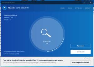 Reason Core Security: Scan Reason Core Security: Scan