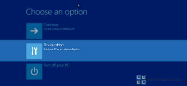 Troubleshoot Windows 10 Windows 10 Does Not Boot! How do I repair the boot files? repair boot files