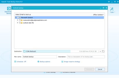 EaseUS Outlook Backup and Recovery