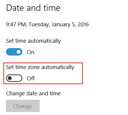 How to Set Time Zone Automatically in Windows 10 | WindowsInstructed