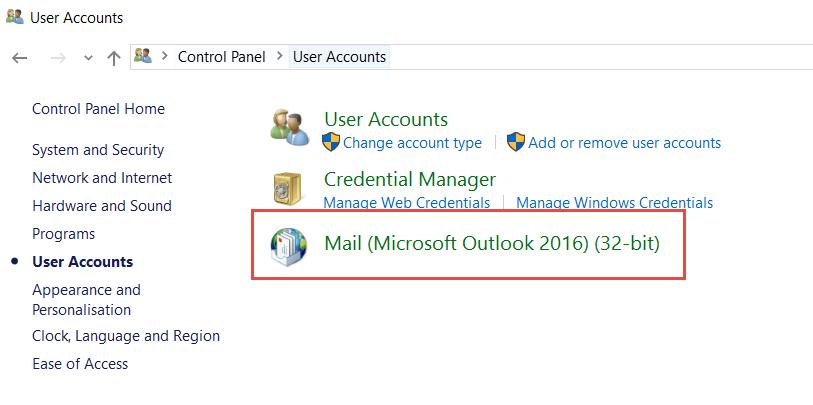 FIX: Outlook 2016 hangs at