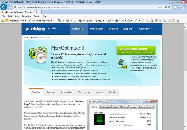 pic 9 Why Memory Optimizers, Driver Updaters, and Registry Cleaners are NOT recommended and should be avoided optimizer