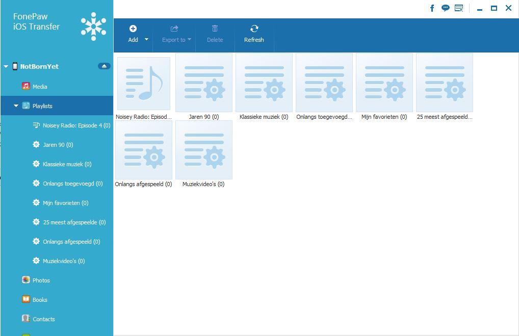 playlist.JPG Review: FonePaw iOS Transfer, Manage Your iPhone Data on Computer fonepaw ios