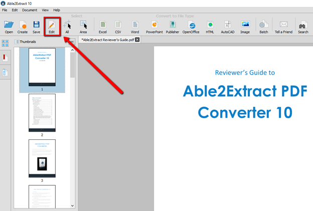 How to Edit a PDF File with Able2Extract Able2Extract