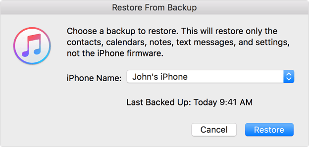 How to Extract iPhone Data from Backup