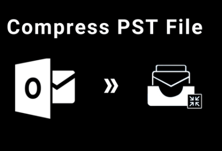 compress Outlook PST file
