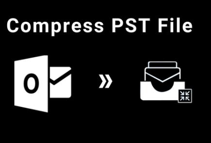 compress Outlook PST file