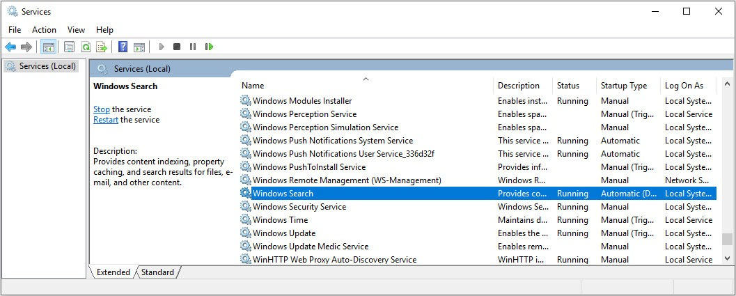 5 servicios de Windows que no debes deshabilitar