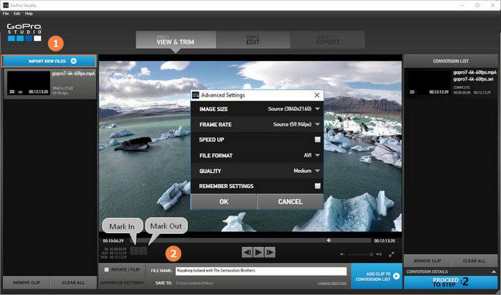 VideoProc an good alternative for GoPro Studio?
