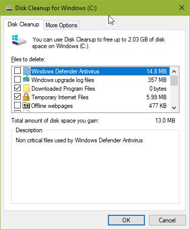 Menghapus data-data tidak penting di Windows 10