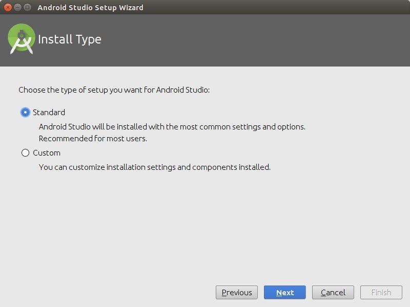 Instalasi Android Studio Opsi Install