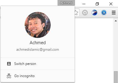 Masuk Ke Google Chrome