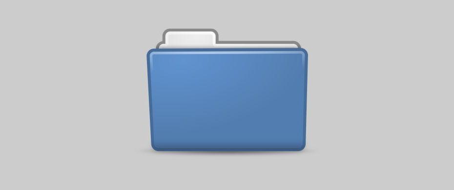 Folder Header
