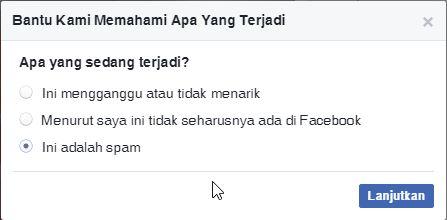 Melaporkan Berita Di Facebook