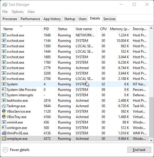 Mengetahui Nama File Aplikasi Di Task Manager