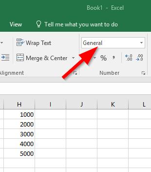 Mengubah Format Angka Di Excel
