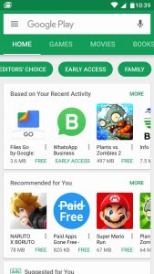 Play Store Early Access