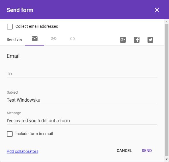 Tutorial Lengkap Cara Membuat Google Form Formulir Dan Kuisioner Online Windowsku