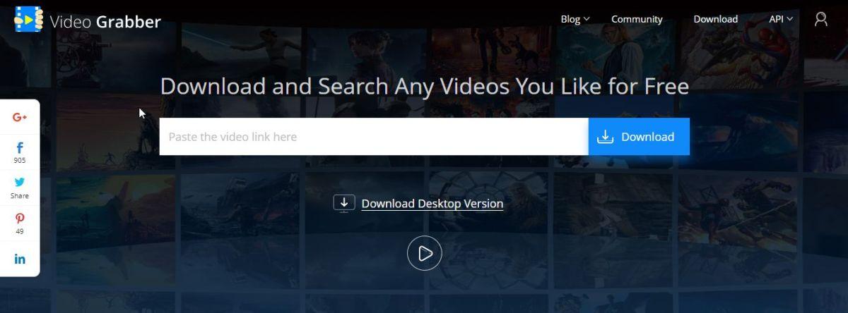 Video Grabber Download Video