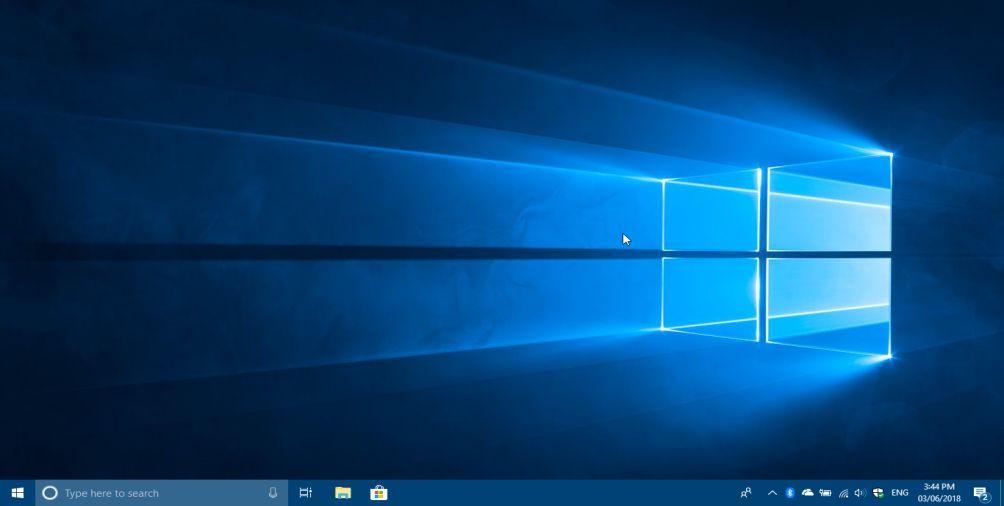 Windows 10 Segar Fresh Blank