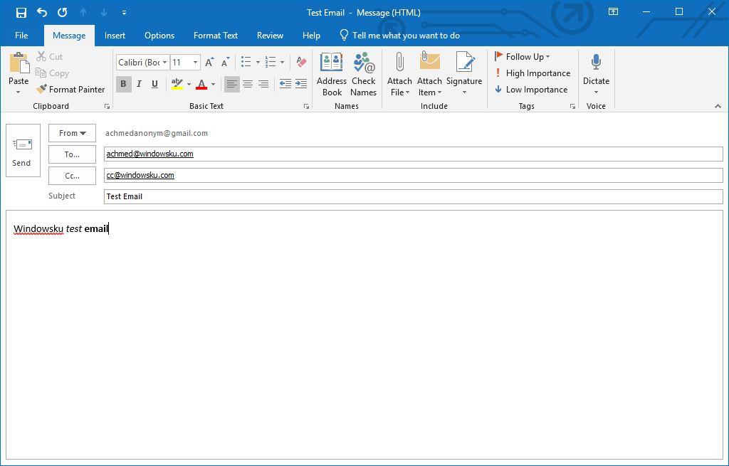 Membuat Email Baru