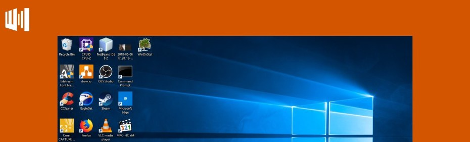 Cara Menyesuaikan Icon Desktop Windows Header