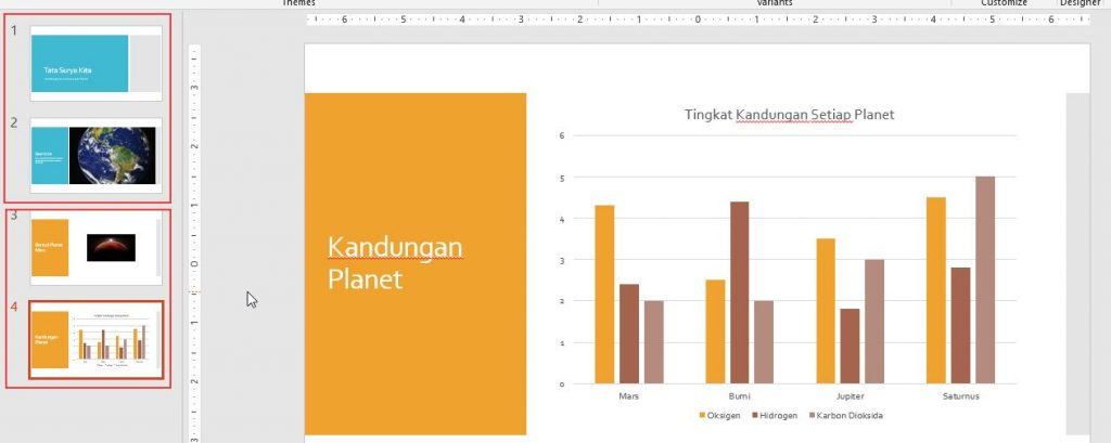 Menerapkan Desain Yang Berbeda Tiap Slide Powerpoint