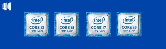 Intel Core I3 Vs I5 Vs I7 Vs I9 Header
