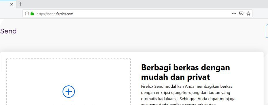 Cara Sharing File Firefox Send Header