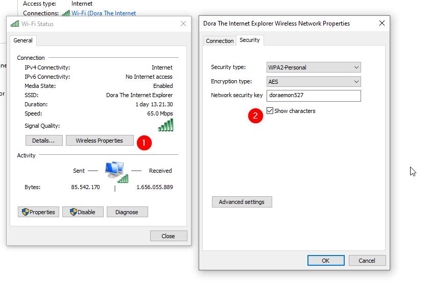 Cara Mengetahui Password Wifi Windows 10
