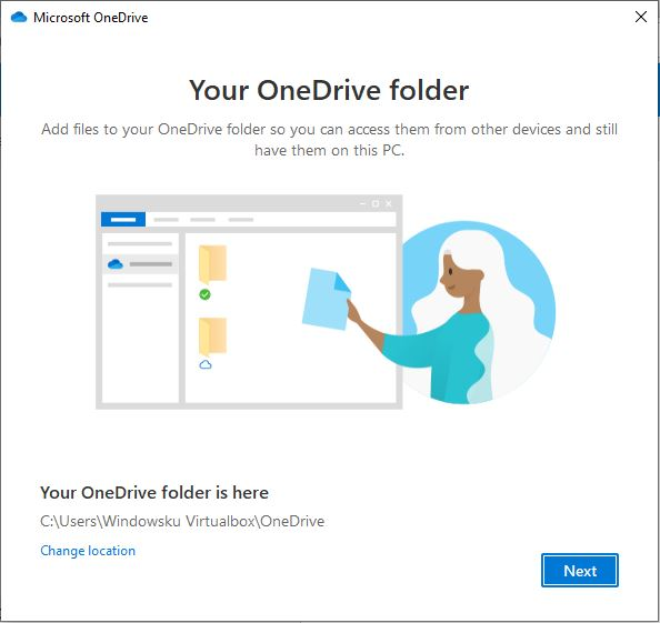 Lokasi Folder Onedrive Windows