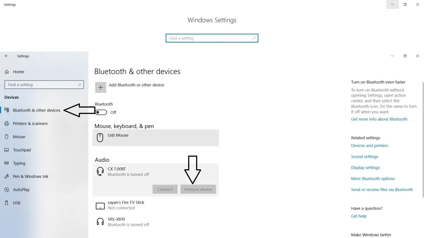 Fixed Cannot Connect to Bluetooth Device Issue in Windows 10