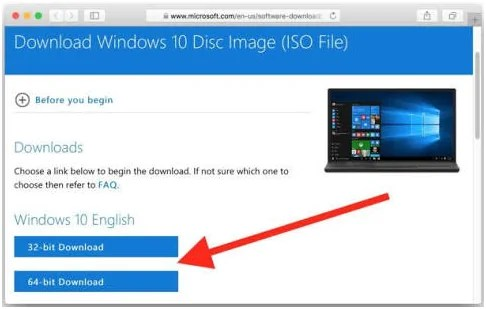 download Windows 10 ISO