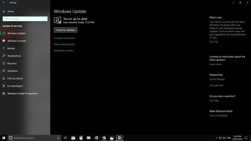 Microsoft Word Updates