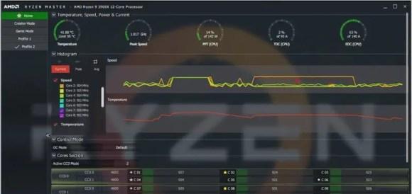 AMD Ryzen Master GPU overclocking