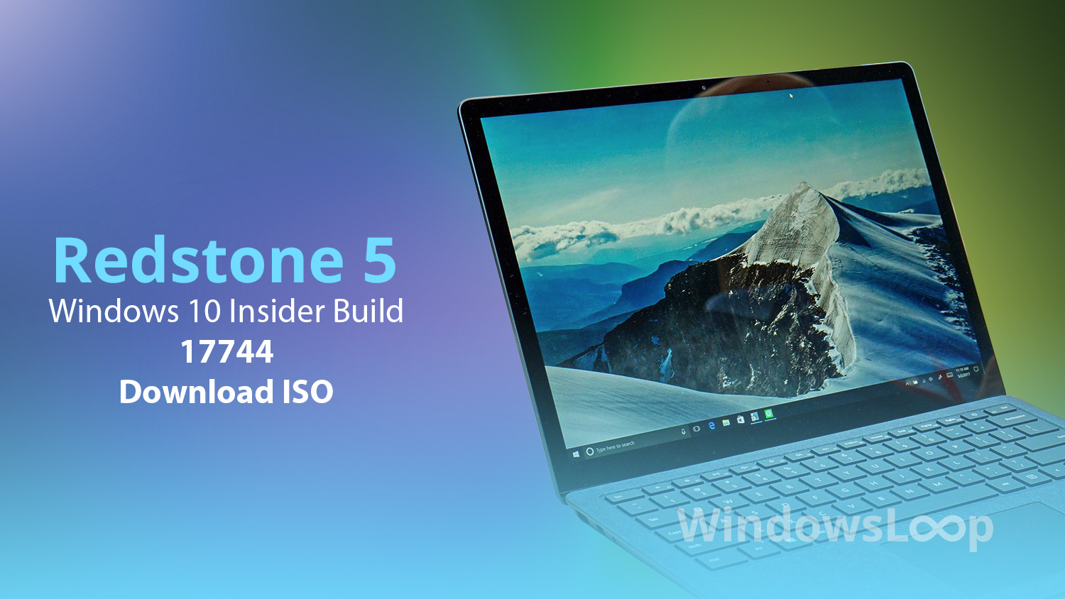 Download Windows 10 Build 17744 ISO