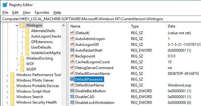 Windows 10 auto login 09