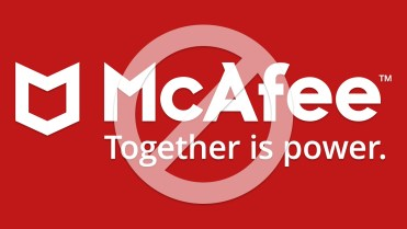 Uninstall mcafee
