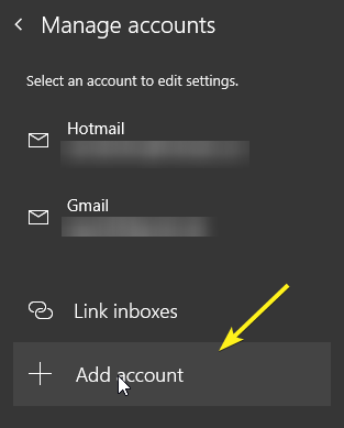 How to Add or Delete an Email Account in Mail App on Windows 10