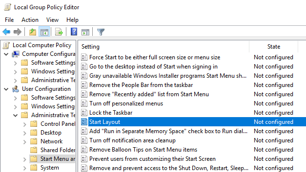 Backup restore start menu layout 03