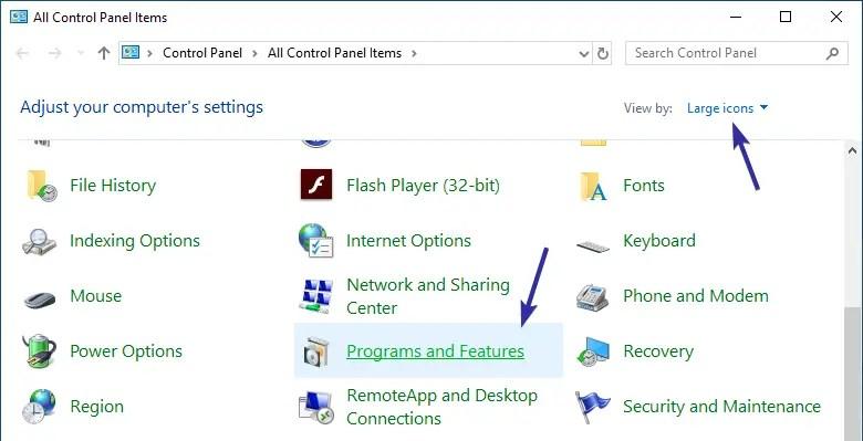 Uninstall internet explorer 01