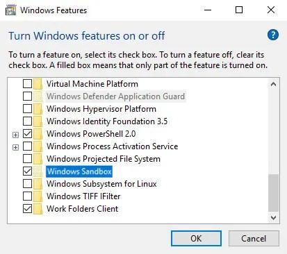 Windows 10 enable sandbox 04